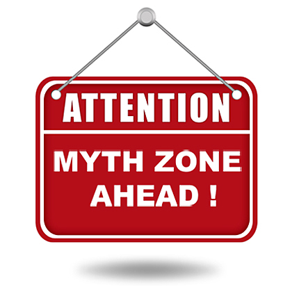 Attention myth zone