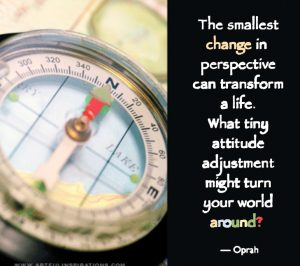 Change one small thing